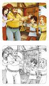 Cartoon sprookje — Stockfoto