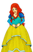 Fairytale cartoon character — Stock Photo