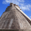 MayPyramid in Uxmal, Yucatán, Mexico — Stock Photo #18583357