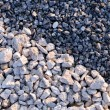 Small rubble of two colours — Stock Photo