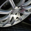 Stock Photo: Automobile wheel