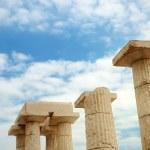 The ancient column — Stock Photo