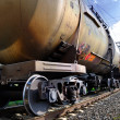Train with petroleum tanks — Stock Photo #12116256