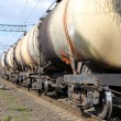 Oil and fuel transportation by rail — Stock Photo #12116259