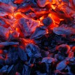 Background from burning charcoal — Stock Photo #12118395