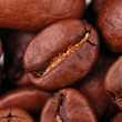 Macro image of coffee - Stock Photo