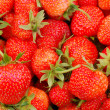 Stock Photo: Background from strawberry