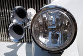 Decorative element on the car — Stock Photo