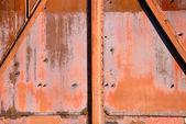 Arrière-plan de fer rouillé — Photo