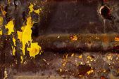 Superficie metallica astratta in stile tossici — Foto Stock