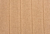 Light brown knitted wool — Stock Photo