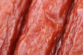 美味香肠的背景 — 图库照片