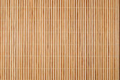 Background from bamboo table cloth — Stock Photo