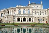 Veřejné operní divadlo v Oděsa Ukrajina — Stock fotografie