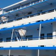 Side of passenger ship — Stock Photo #12120346