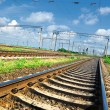 Railroad infrastructure — Foto Stock