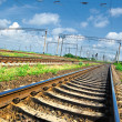 Stock Photo: Railroad infrastructure