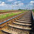 Railroad infrastructure — Stock Photo