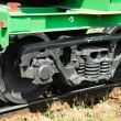 The wheel mechanism of the train — Stock Photo #12120459