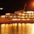 Passenger ship is moored in port — стоковое фото #12120891