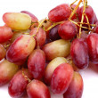 One cluster of red grapes — Stock Photo