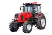 New tractor on white background — Stock Photo