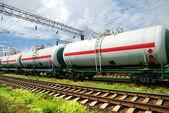 Coches del tanque de aceite — Foto de Stock