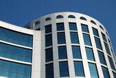 The facade of a modern building — Stock Photo