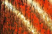 Sullo sfondo di metallo arrugginito grunge — Foto Stock