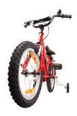 New red children's bike isolated — Stock Photo