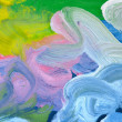 Abstract background from watercolor - Stock Photo