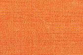 Orange striped fabric background — Stock Photo