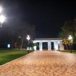 City park at night — Stock Photo #13471130
