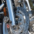 Motorcycle brake — Stock Photo