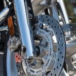 Motorcycle brake — Stock Photo