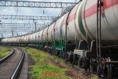 Vagón tanque — Foto de Stock