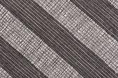 Sfondo tessuto a righe bianche e nere — Foto Stock