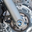 Stock Photo: Motorcycle brake