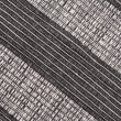 Black and white striped fabric background - Stock Photo