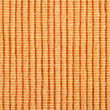 Orange striped fabric background - Stock Photo