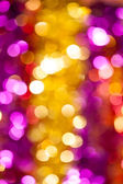 Yellow and red bokeh background — Stock Photo