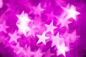 Pink stars background — Stock Photo