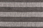 Black and white striped fabric background — Stock Photo