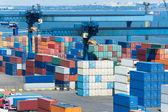 Puerto industrial — Foto de Stock