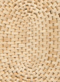 Wicker table cloth background — Stock Photo