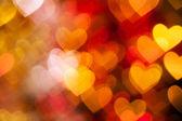 Hearts shape as background — Stock Photo
