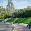 Summer day in city park — Stock Photo