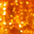 Gold bokeh background — Foto Stock