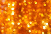 Gouden bokeh achtergrond — Stockfoto
