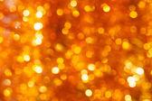 Guld bokeh bakgrund — Stockfoto